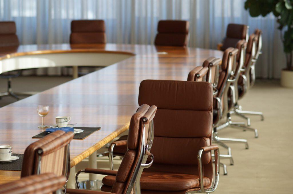 leerer Meetingraum